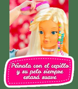 La muñeca a la que le crece el pelo